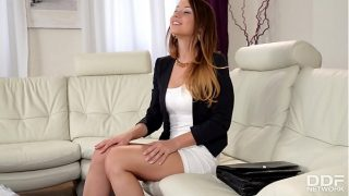 Young Dutch teenager Taylor Sands shows off her fucking talents on camera